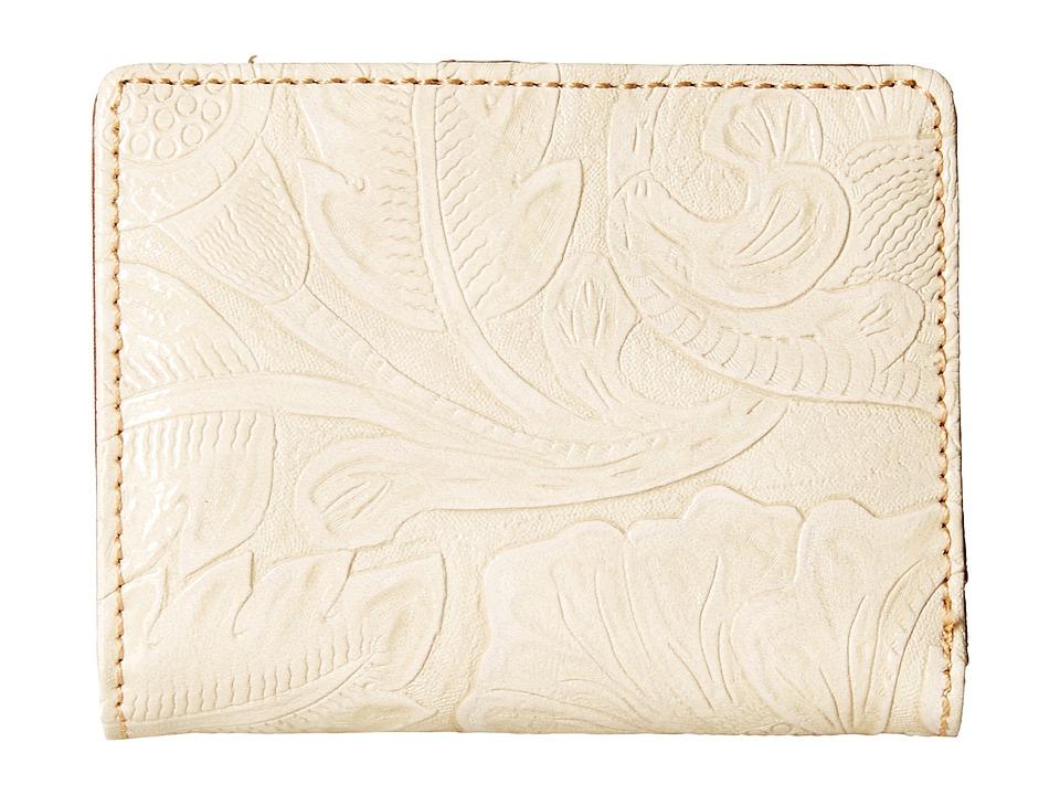 American West - Amour Folded Snap Wallet (Cream) Wallet Handbags