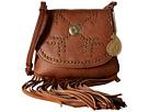 American West Austin Fringe Flap Bag w/ Wallet (Brown)