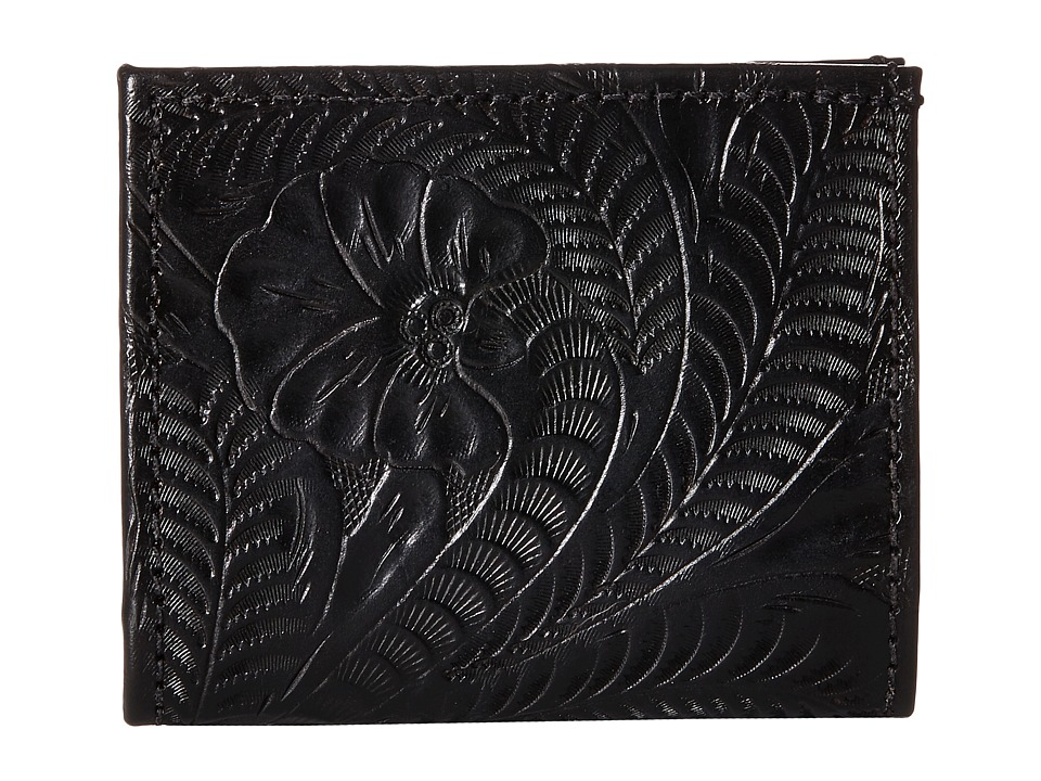 American West - Boyfriend Wallet Bifold Wallet (Black) Wallet Handbags