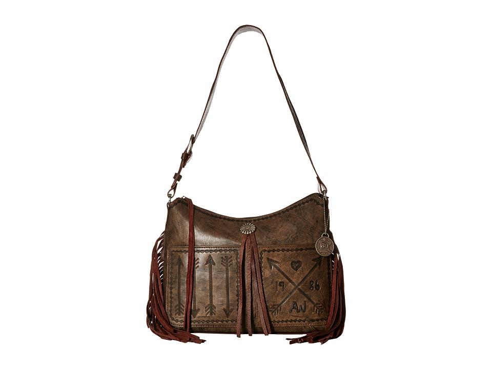 American West - Cross My Heart Zip Top Shoulder Bag