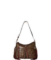 American West - Cross My Heart Zip Top Shoulder Bag