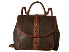 American West Oak Creek Backpack/Shoulder Bag (Milk Chocolate)
