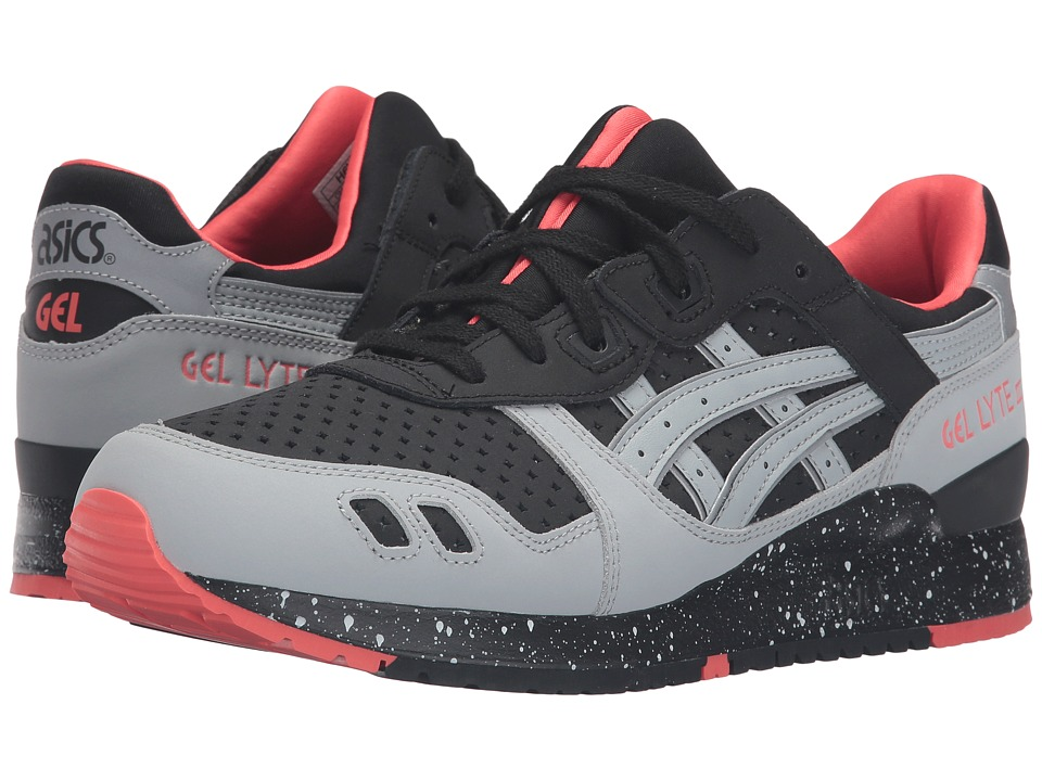 ASICS Tiger - Gel-Lyte III (Black/Light Grey) Classic Shoes