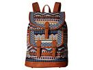 American West Santa Fe Backpack (Multicolor/Tan)