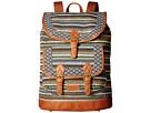 American West Santa Fe Backpack (Multicolor/Brown)