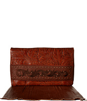 American West - Palo Alto Folded Clutch w/ Chain