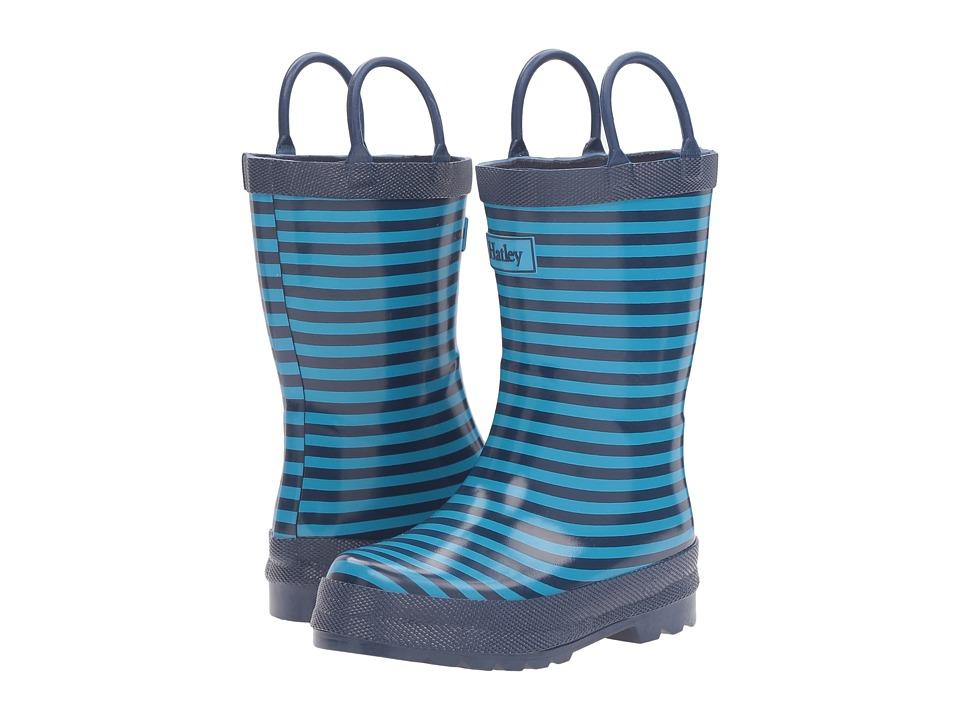 Hatley Kids - Navy Striped Rain Boots
