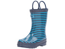 Hatley Kids - Navy Striped Rain Boots (Toddler/Little Kid)