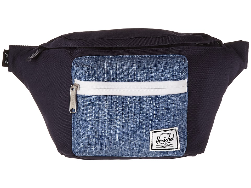 Herschel Supply Co. - Seventeen (Peacoat/Limoges Crosshatch) Travel Pouch