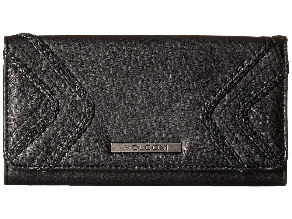 Volcom - City Girl Wallet (Black) Wallet
