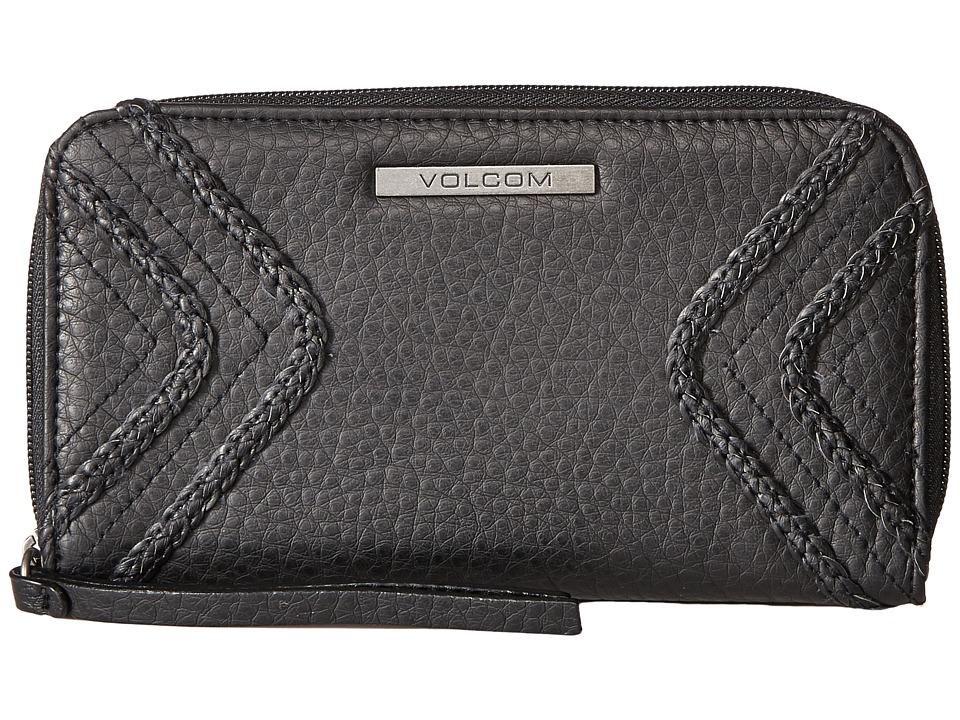 Volcom - City Girl Zip Wallet (Black) Wallet