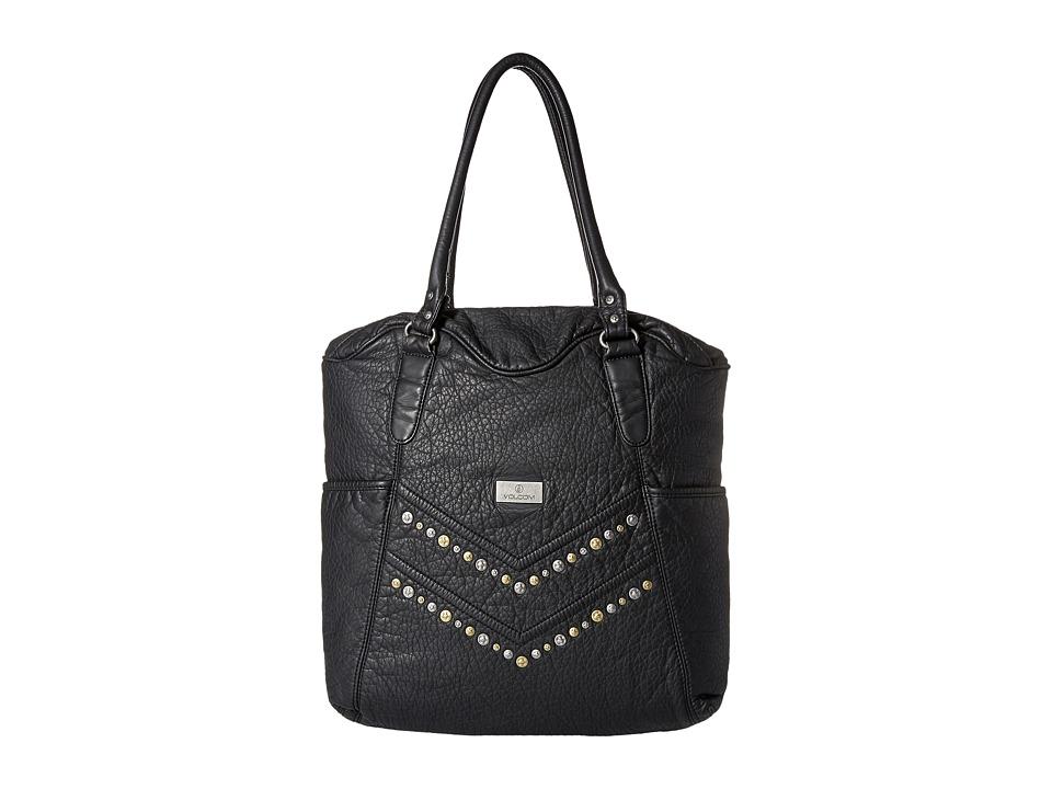 Volcom - Pretty Tough Tote (Black) Tote Handbags