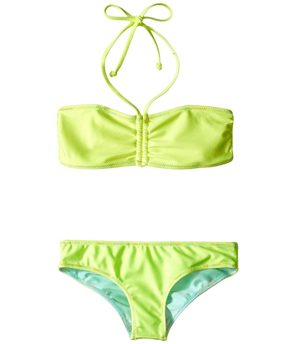Bowie X James Sunset Swim Set Toddler/Little Kids/Big Kids Yellow Girls Swimwear Sets