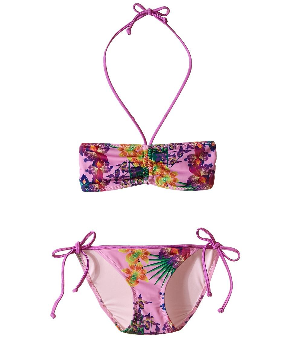 Bowie X James Amazon Swim Set Toddler/Little Kids/Big Kids Pink Girls Swimwear Sets