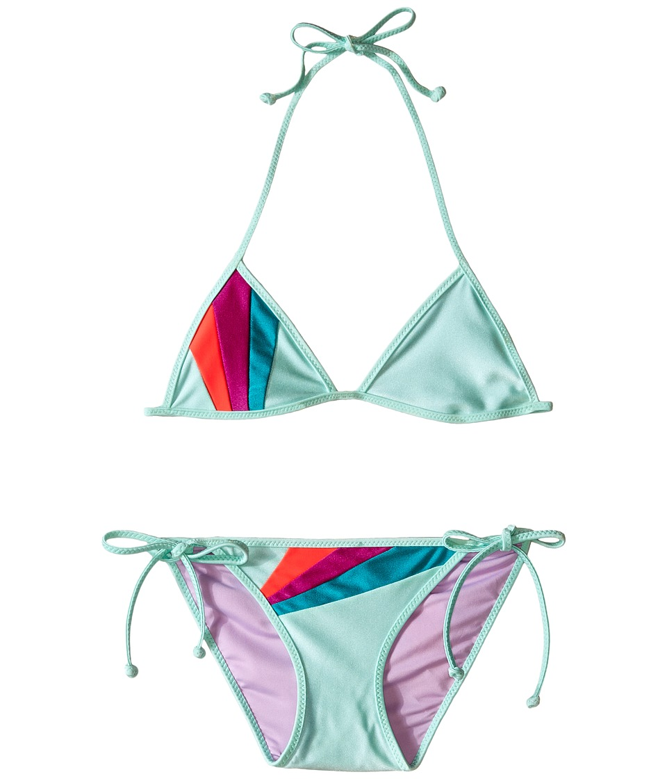 Bowie X James Sunray Swim Set Toddler/Little Kids/Big Kids Seafoam Girls Swimwear Sets
