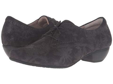 Taos Footwear Cobbler - Grey Printed Suede