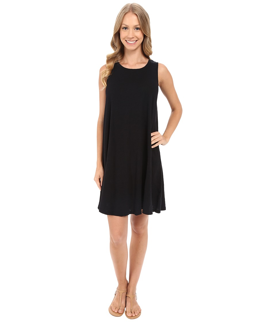 Allen Allen Swing Dress Black Womens Dress
