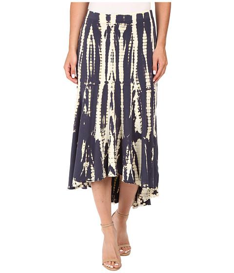 Mod-o-doc Tie-Dye Rayon Spandex Jersey Tie-Dye Swing Hem Skirt
