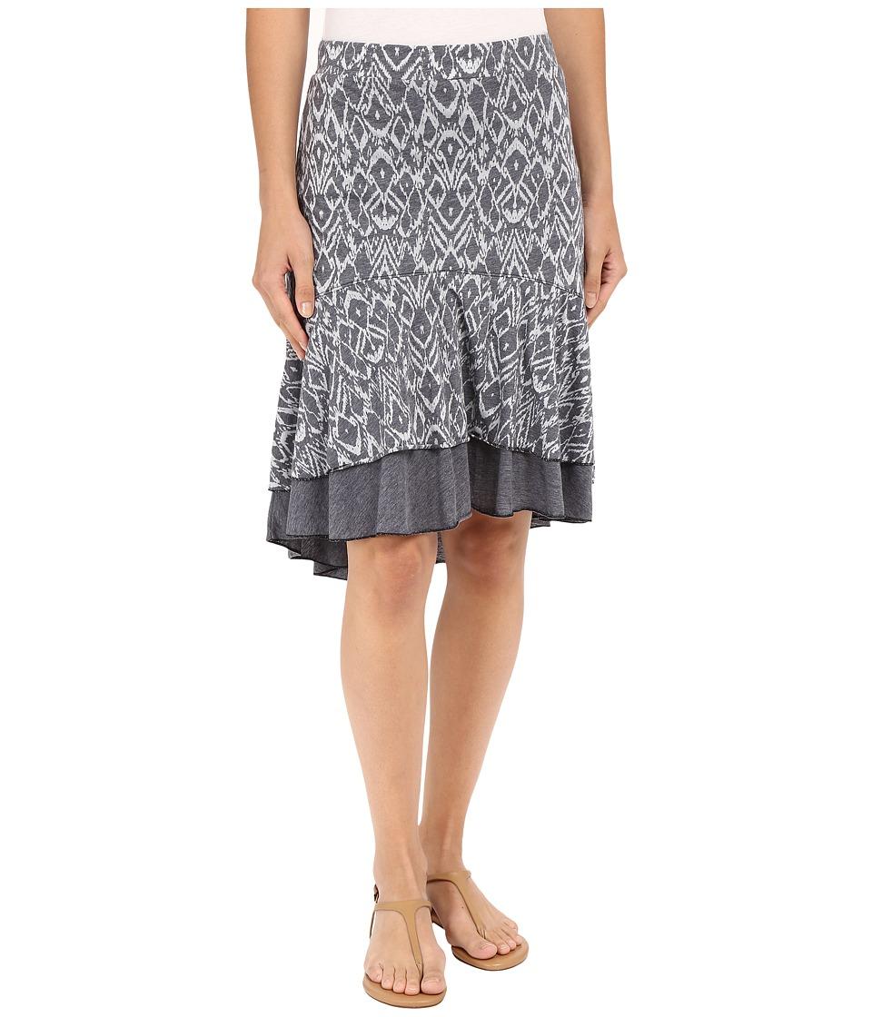 Mod o doc Burnout Jersey Double Layer Flounce Skirt Gibraltar Womens Skirt