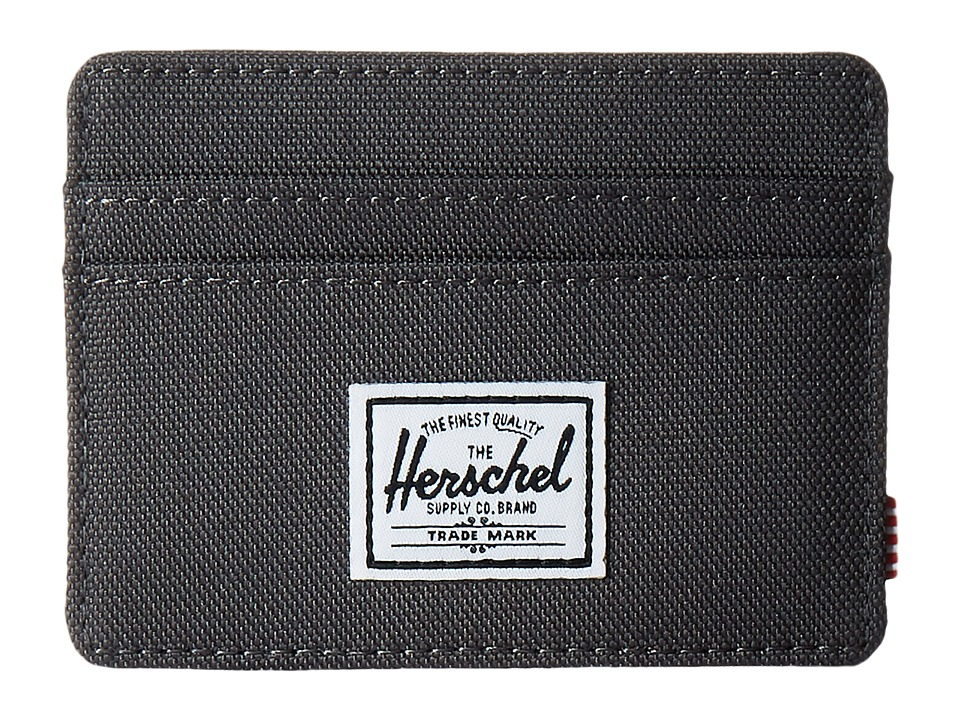 Herschel Supply Co. - Charlie (Charcoal) Credit card Wallet