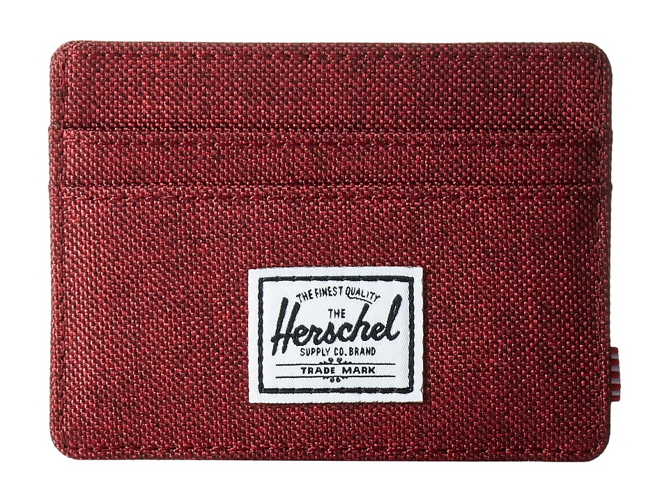 Herschel Supply Co. - Charlie (Winetasting Crosshatch) Credit card Wallet