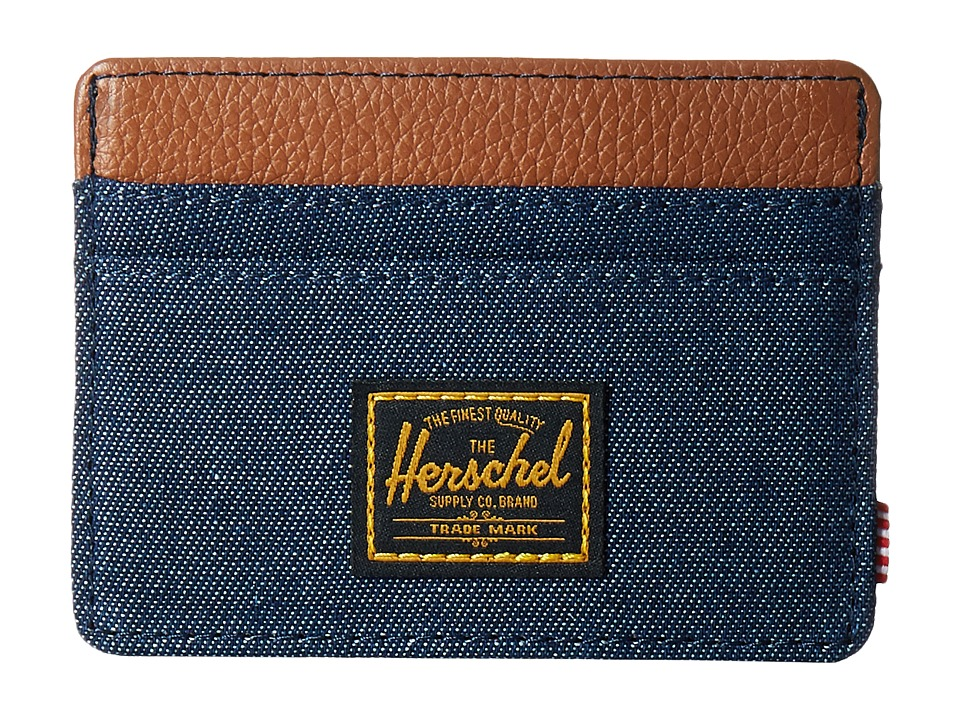 Herschel Supply Co. - Charlie (Dark Denim 2) Credit card Wallet