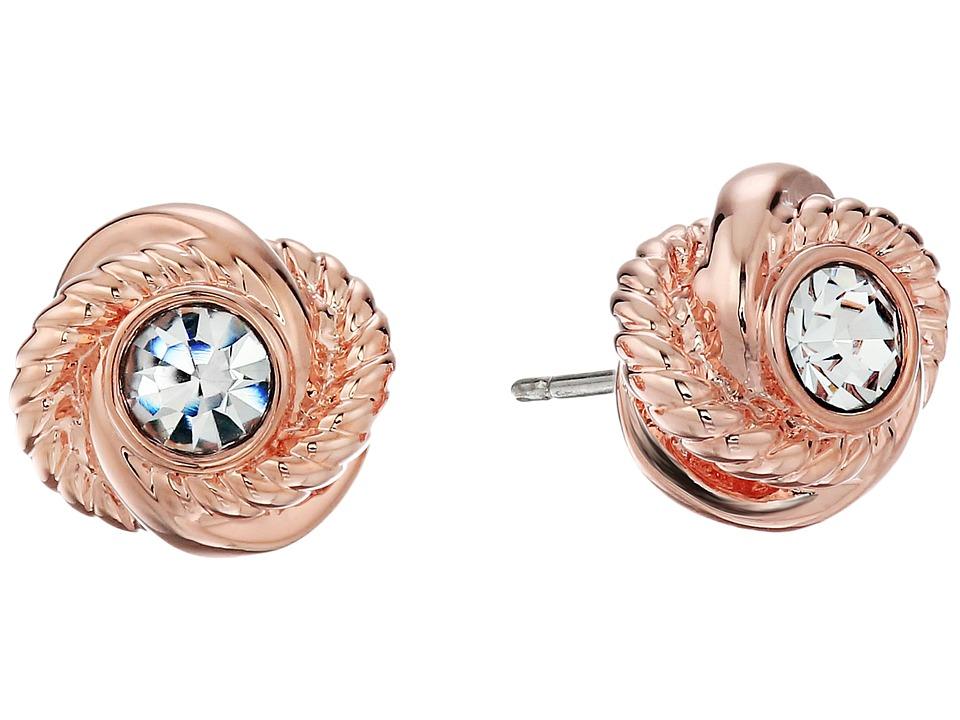 Kate Spade New York - Infinity Beyond Knot Studs Earrings...