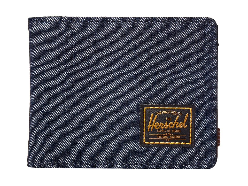 Herschel Supply Co. - Hank (Dark Denim 2) Wallet Handbags