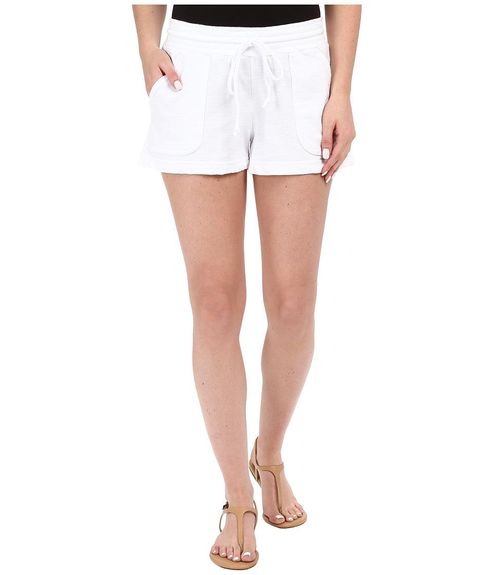 Allen Allen Shorts White Womens Shorts