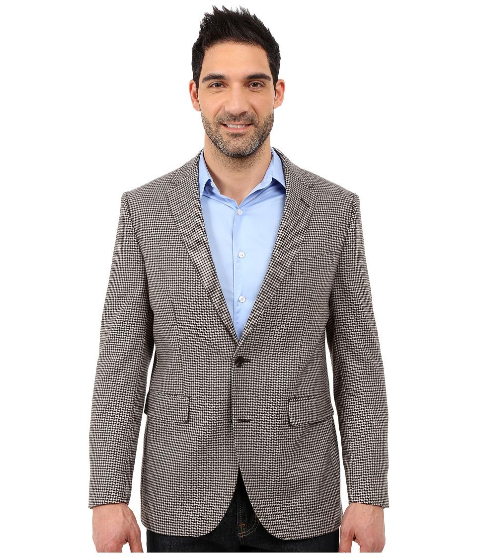 Dockers Battery Street Sport Coat Brown Houndstooth Mens Jacket