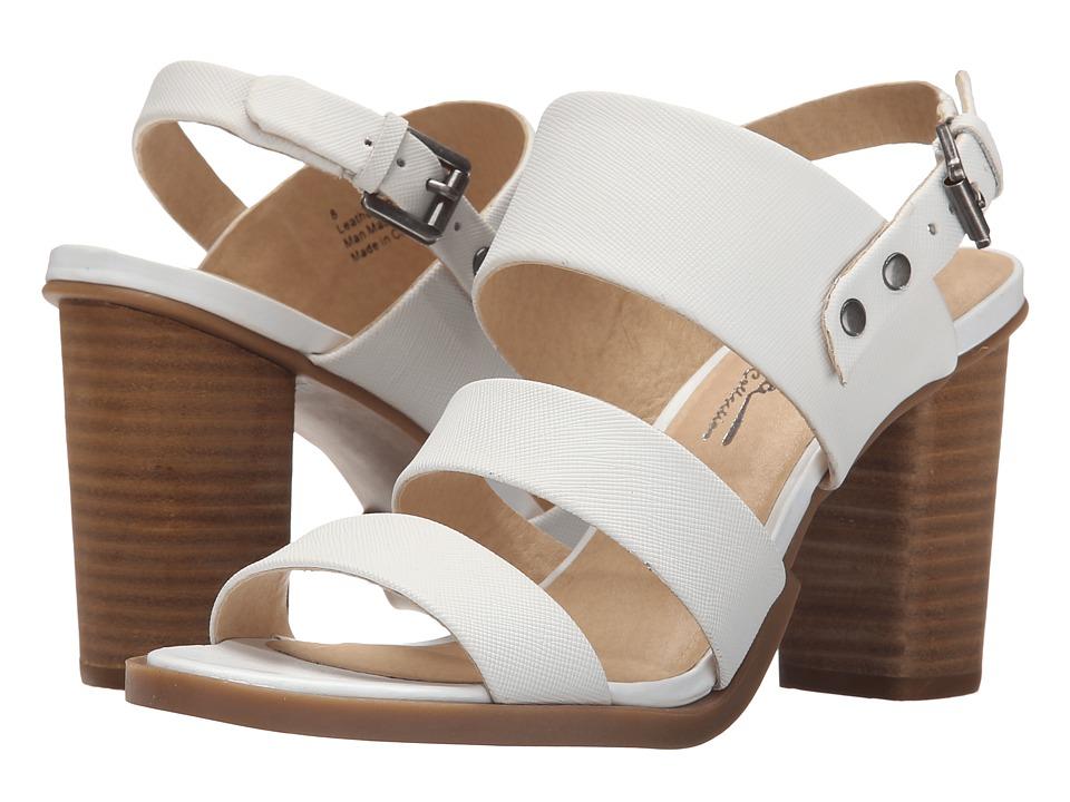 Sbicca Calynda White High Heels