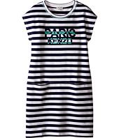 Kenzo Kids - Blue Stripe Dress (Little Kids/Big Kids)