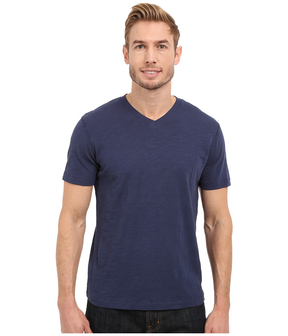 Mod-o-doc - El Porto Short Sleeve V-Neck Tee (New Navy) Mens T Shirt