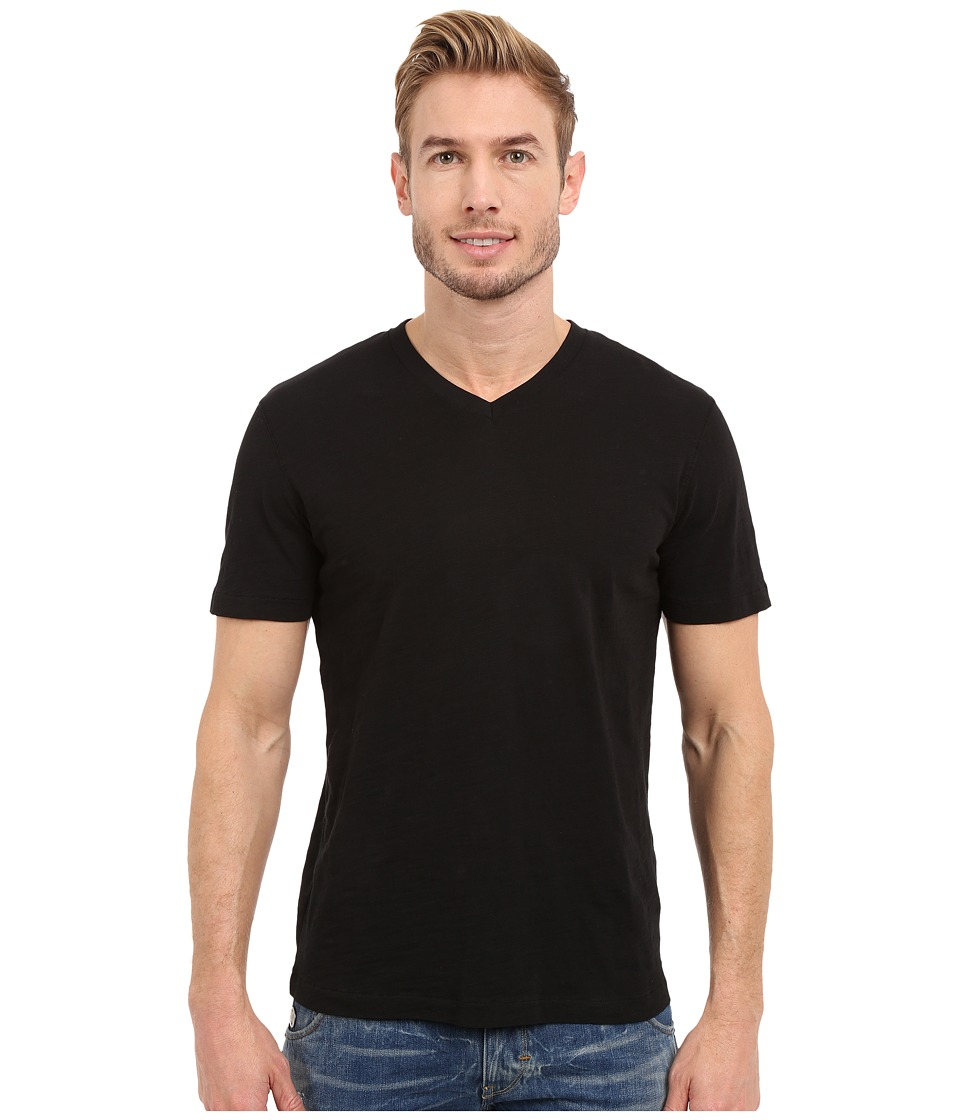 Mod o doc El Porto Short Sleeve V Neck Tee Black Mens T Shirt