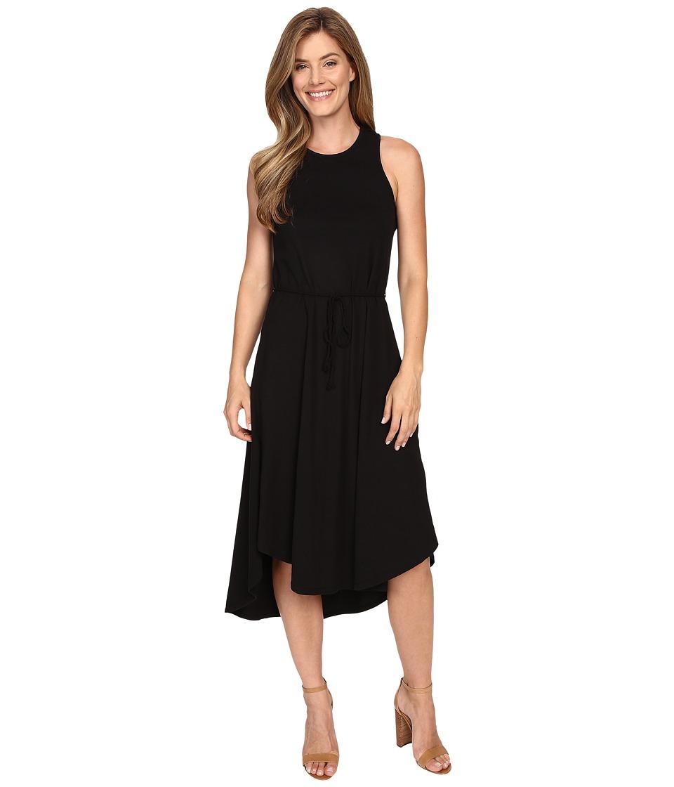 Mod o doc Classic Jersey Crochet Racerback Tank Dress Black Womens Dress