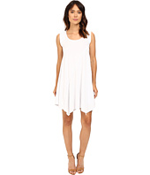 Mod-o-doc - Cotton Modal Spandex Asymmetrical Seam Dress
