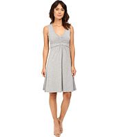 Mod-o-doc - Cotton Modal Spandex Braided Trim Tank Dress