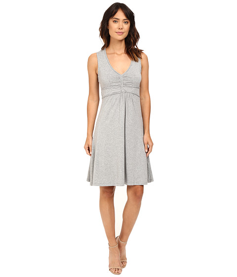 Mod-o-doc Cotton Modal Spandex Braided Trim Tank Dress