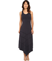 Mod-o-doc - Cotton Modal Spandex Seamed Hanky Hem Maxi Dress