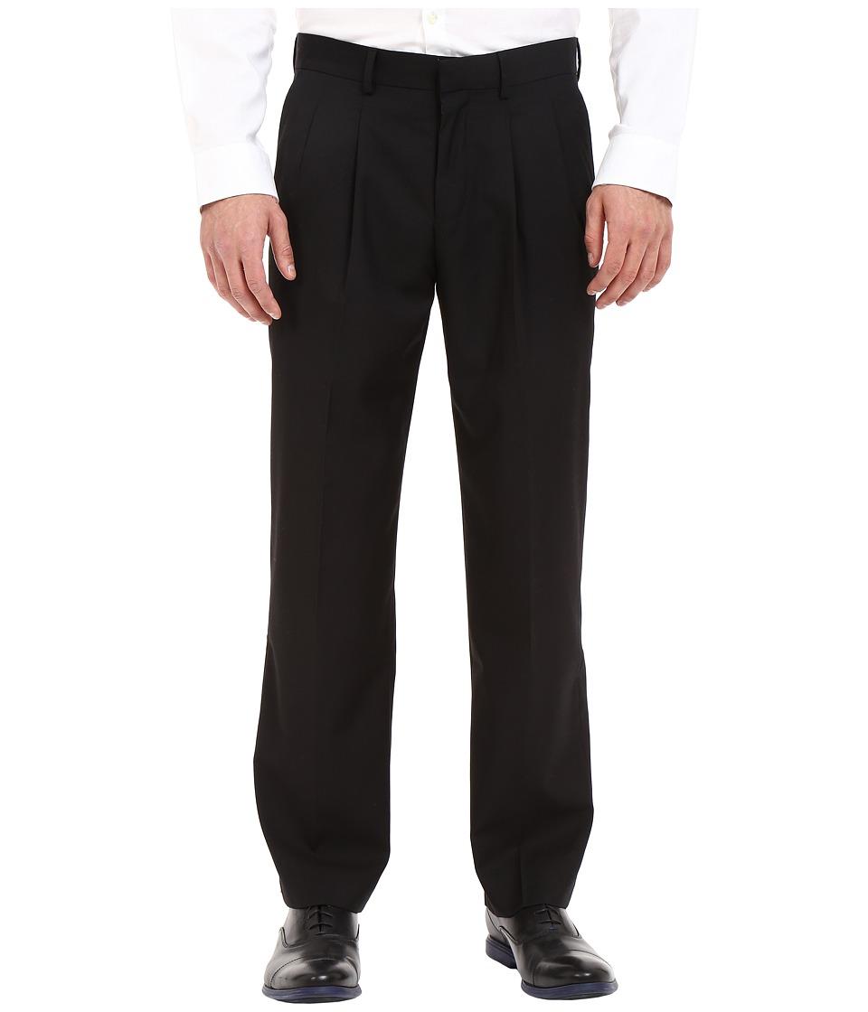 Dockers Pleated Dress Pants (Black) Men's Casual Pants