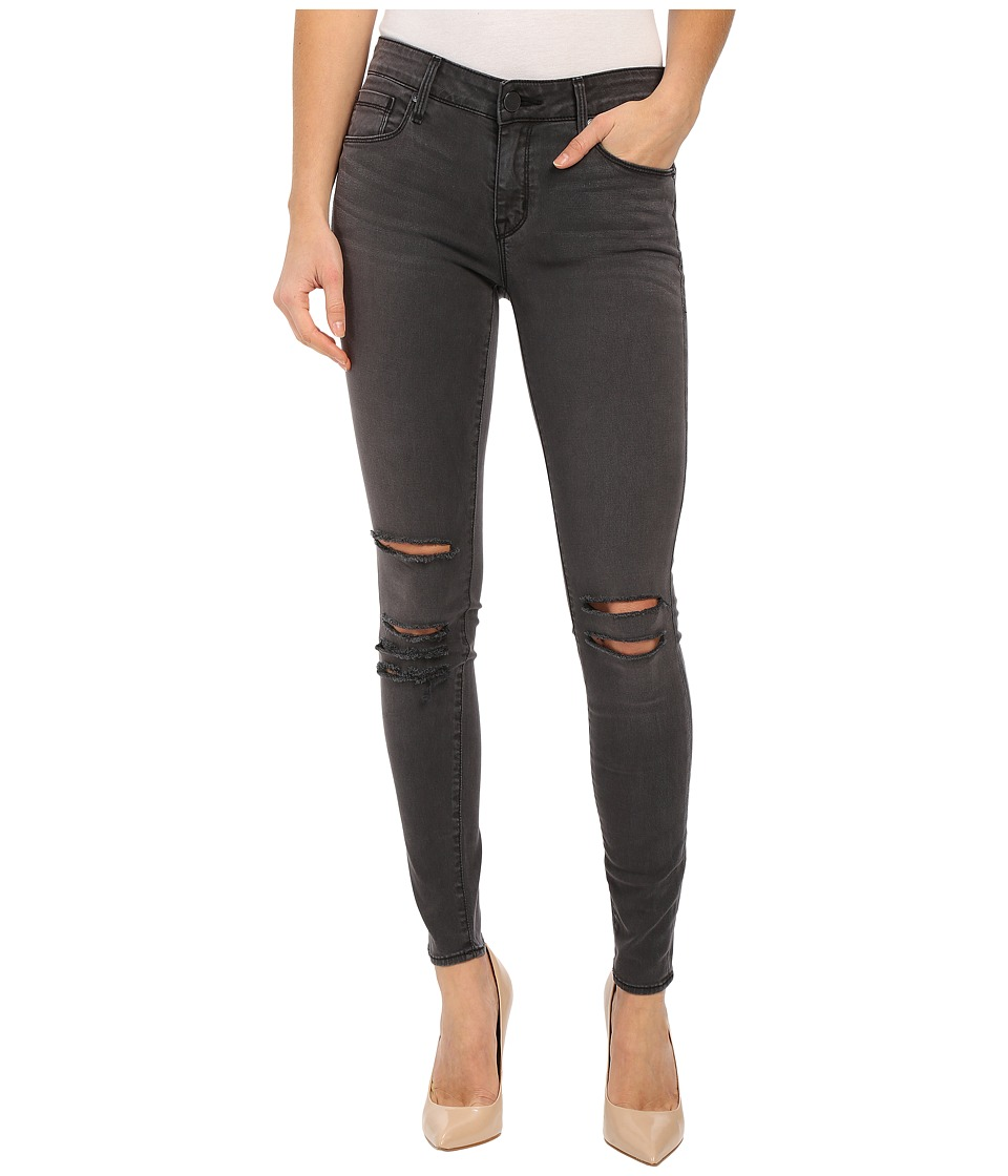 Parker Smith Kam Skinny Jeans in Pewter Destroy Pewter Destroy Womens Jeans