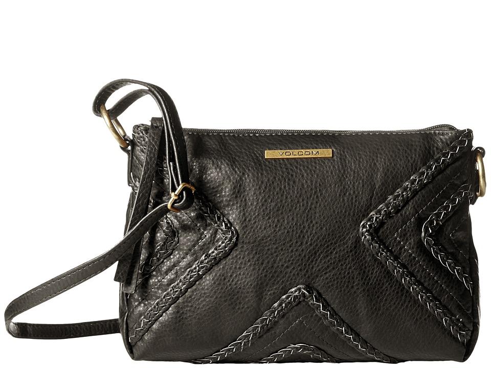 Volcom - City Girl Crossbody Bag (Black) Cross Body Handbags