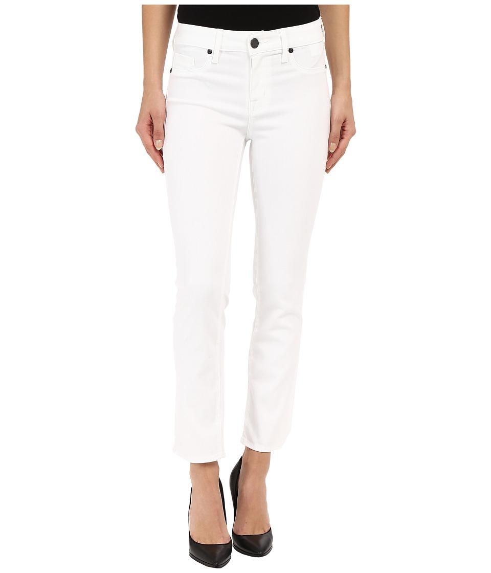 Parker Smith Courtney Cuffed Crop Jeans in Eternal White Eternal White Womens Jeans