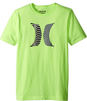 Hurley Kids - Icon Flow Short Sleeve Tee (Big Kids)