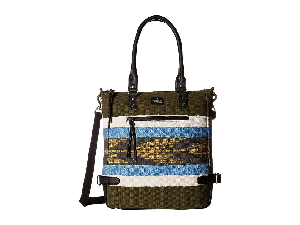 Volcom - Vintage Queen Tote (Lentil Green) Tote Handbags