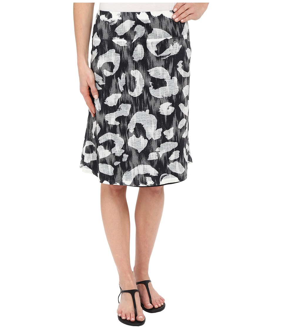 Nally amp Millie Black and White Reversible Burnout Skirt Multi Womens Skirt