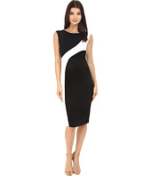 Calvin Klein - Color Block Cap Sleeve Dress CD6A1V8U