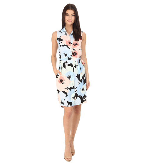 Calvin Klein Floral Shirtdress CD6EZV4X