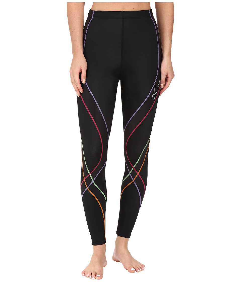 CW-X - Endurance Pro Tight (Black/Rainbow) Womens Workout
