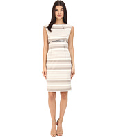 Calvin Klein - Stripe Empire Waist Sheath CD6XGBD6